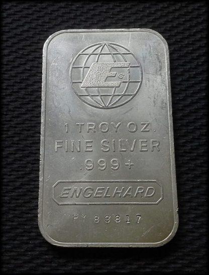 Silver Engelhard Bar 1oz .999