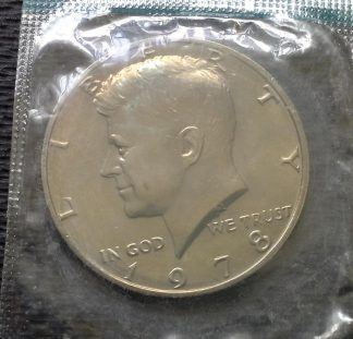 1978 Kennedy Half Dollar - Mint Sealed