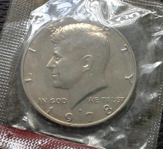 1978-D Kennedy Half Dollar - Mint Sealed