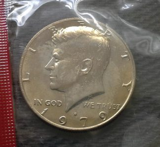 1979-D Kennedy Half Dollar - Mint Sealed