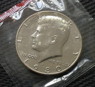 1980-D Kennedy Half Dollar - Mint Sealed