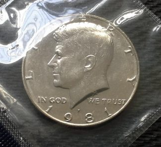 1981 Kennedy Half Dollar - Mint Sealed