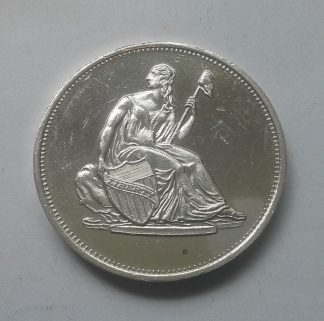 Liberty Seated 1oz .999 Silver Round