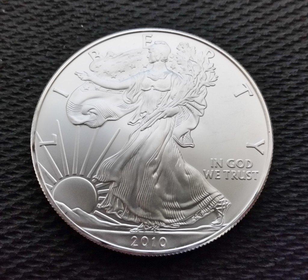 2010 American Silver Eagle 1 Oz 999
