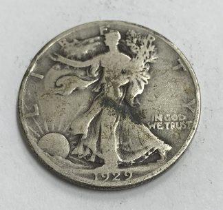 1929-S Silver Walking Liberty Half Dollar VG #5080